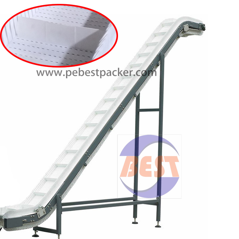 Food Grade Modular PP Belt Inclined Conveyor