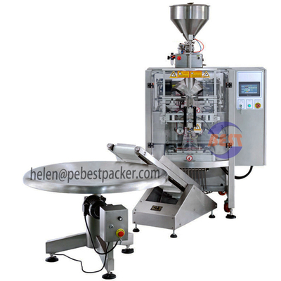Fluid Filling machine Liquid cream and Sauces filling Packaging machine