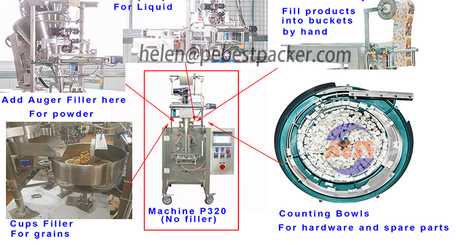 4 Side Seal Sachet Packaging Machine For Shampoo, Lotion