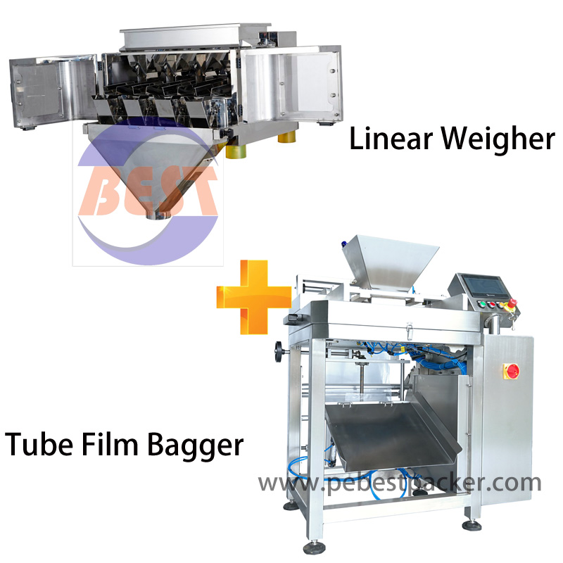 Linear Balance Weighing Packing Machine for Cookie Biscuit confection