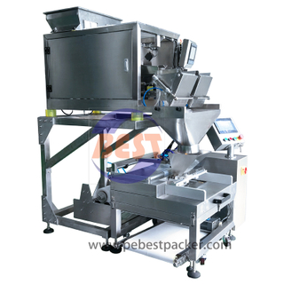 Automatic tubular film Filling bagging machine for Hardware/Plastic Parts
