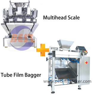 Potato Chips, Puff, Popcorn Plantain Snack Food Snack Weighing Packing Machine