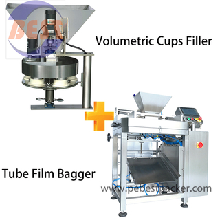 Cereals Breakfast Bagging machine with PE Polyolefin Shrink Film Rolls