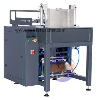 Big PE bag tubular film sealing machine can work with Robot machine